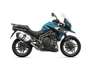 2018 Triumph Tiger 1200 XRX Low Matt Cobalt Blue