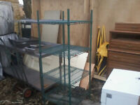 CATERING SHELVING FOR SALE
