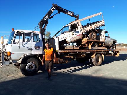 Hiab Scrap Car Removals