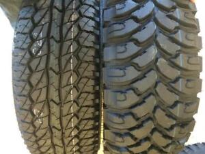 COMFORSER & GINELL - MUD TIRES / ALL SEASON / ALL TERRAIN / TRUCK + CAR + SUV TIRES - LOWEST PRICE, FULLY WARRANTIED