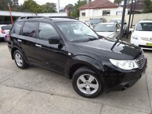 2008 Subaru Forester MY09 XS Premium Black 4 Speed Auto Elec Sportshift Wagon Sylvania Sutherland Area Preview
