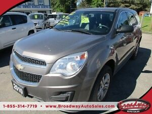 2010 Chevrolet Equinox WELL EQUIPPED LT EDITION 5 PASSENGER ECO-