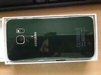 Samsung s6 edge in green 32gig