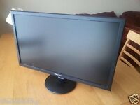 22 INCH TFT CHEAP PC MONITOR HOME OFFICE COMPUTER CCTV GRADE
