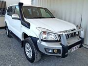 2003 Toyota Landcruiser Prado KZJ120R GXL White Manual Wagon Helensvale Gold Coast North Preview