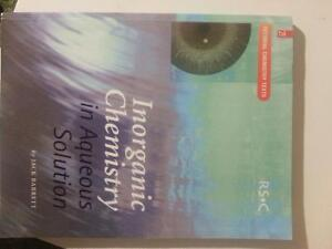 Book inorganic chemistry in aqueous solutions