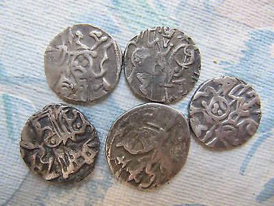 1 - SHAHI JITALS IN SILVER 8TH – 10TH  Century's AD SILVER Hindu & Muslim