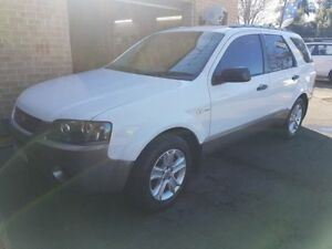 2007 Ford Territory SY TS (4x4) White 6 Speed Auto Seq Sportshift Wagon Campbelltown Campbelltown Area Preview
