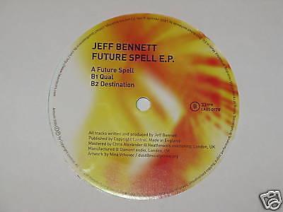 "JEFF BENNETT future spell 12"" RECORD"