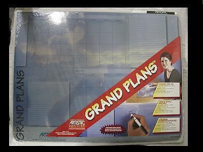 Artistic Grand Plans Erasable Desk Pad Qty 6 Free Shipping Free Desk Plans