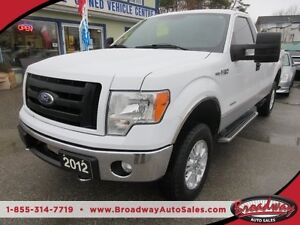 2012 Ford F-150 3.5L - ECO-BOOST LOADED XLT 3 PASSENGER 4X4.. RE