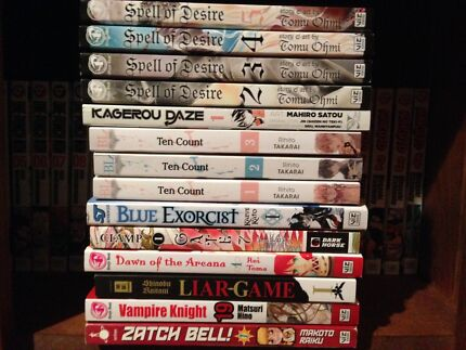 Manga Collection For Sale GREAT CONDITION & CHEAP