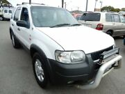 2002 Ford Escape BA XLT White 4 Speed Automatic Wagon Enfield Port Adelaide Area Preview