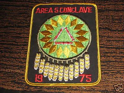 Area 5 Conclave patch 1975