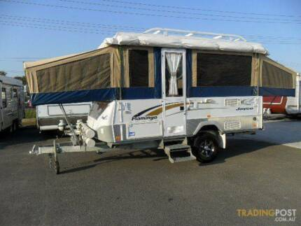 2009 Jayco Flaming OUTBACK (Off Road)
