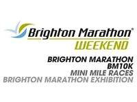 1 x Brighton Marathon & 1 x Brighton 10K / BM10K place available