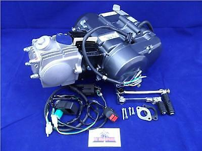 New Lifan 110cc 4 Speed Manual Pit Bike Engine & Complete Wiring Loom
