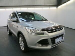 2014 Ford Kuga TF Trend (AWD) Moondust Silver 6 Speed Automatic Wagon Albion Brimbank Area Preview