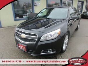 2013 Chevrolet Malibu LOADED LT EDITION 5 PASSENGER 2.5L - DOHC.