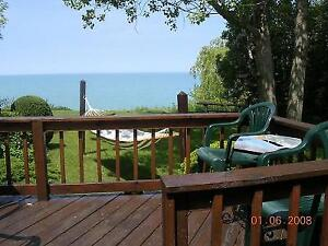 Grand Bend Lake Front Cottage