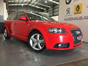 2008 Audi A3  Ambition Sportback S-Line S-Tronic 6 Speed 2.0 Turb Alphington Darebin Area Preview