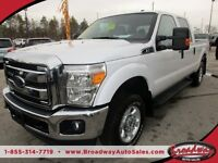 2014 Ford F-250 WORK READY XLT MODEL 6 PASSENGER 4X4.. CREW.. LO