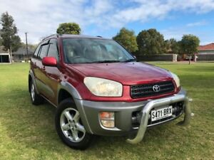 2000 Toyota RAV4 ACA21R Cruiser Red 4 Speed Automatic Wagon Somerton Park Holdfast Bay Preview