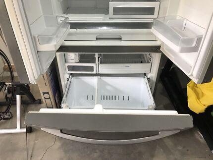 Lg fridge freezer gr in melbourne region vic fridges freezers lg double door fridge freezer sciox Gallery