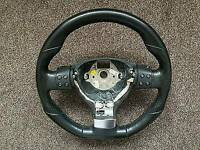 Vw Multi Function Flat Bottom Steering Wheel with DSG Paddle Shifts