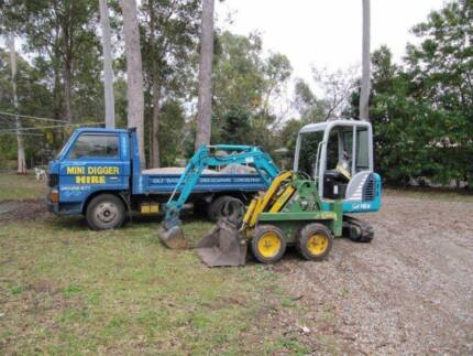 dingo hire and concreting