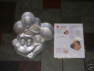 Vintage Wilton Disney  MICKEY MOUSE Band Leader Birthday Party CAKE PAN #515-302 - Mickey Mouse Birthday Cake Pan