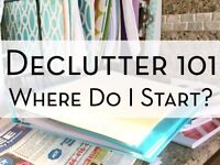 Declutter Expert! - Luton - £25/hour – Minimum 3 hour booking - Organise Your Home & Possessions!
