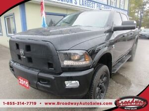 2015 Dodge Ram 2500 3/4 TON - DIESEL WORK READY LARAMIE EDITION