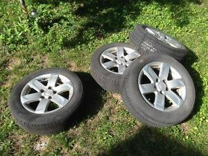Bridgestone Ecopia P205/60R16 with Alum Alloy Rims West Island Greater Montréal image 2