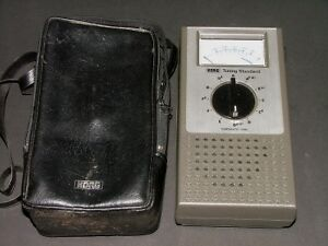 vintage Korg WT-10A Chromatic Tuning Standard tuner