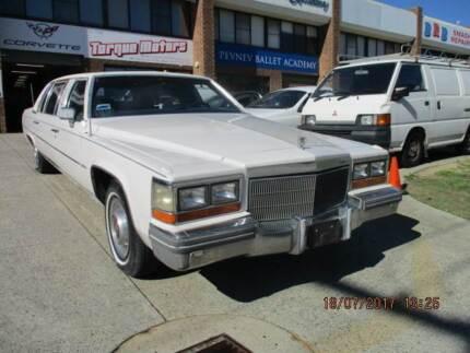 1981 Cadillac deville formal stretch sedan.