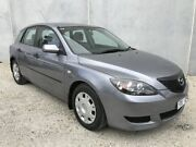 2004 Mazda 3 BK Neo Grey 5 Speed Manual Hatchback Frankston North Frankston Area Preview