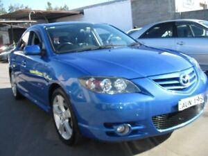 2005 Mazda 3 BK1031 SP23 Blue 5 Speed Manual Sedan Cambridge Park Penrith Area Preview