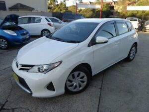 2015 Toyota Corolla ZRE182R Ascent White 7 Speed CVT Auto Sequential Hatchback Sylvania Sutherland Area Preview