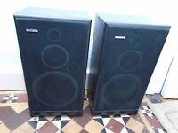 Pair of Philips FB260 Three Way HiFi Speakers