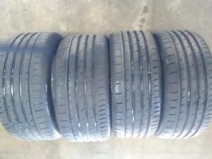 """19"""" BMW M2 STAGGERED SUMMER SET CONTINENTAL CONTI PROCONTACT 3 245/35ZR 19 ,265/35ZR19  USED FOR SALE"""