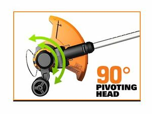 WORX 20V Li-Ion Cordless Grass Trimmer, 12-in Kitchener / Waterloo Kitchener Area image 3
