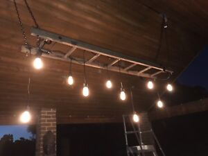 Festoon ladder lights hire $190 delivered Upper Swan Swan Area Preview