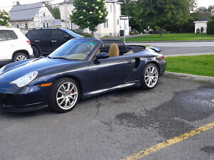 2004 Porsche 911 Cabriolet twin turbo x50