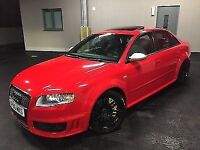 Audi RS4 Misano Red