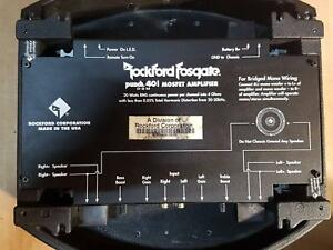 Rockford Fosgate Punch 40i Amp DSM Port Melbourne Port Phillip Preview