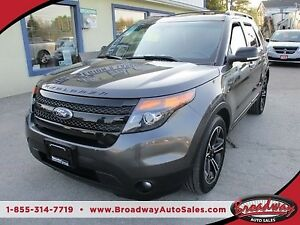 2015 Ford Explorer LOADED SPORT EDITION 6 PASSENGER 3.5L - ECO-B