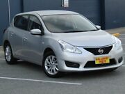 2013 Nissan Pulsar C12 ST Silver 1 Speed Constant Variable Hatchback Melrose Park Mitcham Area Preview