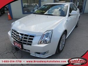 2013 Cadillac CTS LOADED ALL WHEEL DRIVE 5 PASSENGER 3.6L - V6 E