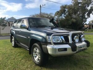 2004 Nissan Patrol GU IV MY05 ST Blue 4 Speed Automatic Wagon Somerton Park Holdfast Bay Preview
